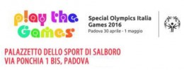 Play the Games - Special Olympics Italia Games 2016