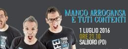 Spettacolo comico Marco e Pippo - Manco Arrogansa e tuti contenti