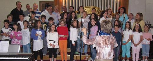 Coro Bambini e Coro Giovani di Salboro - Festa della Comunità 2010